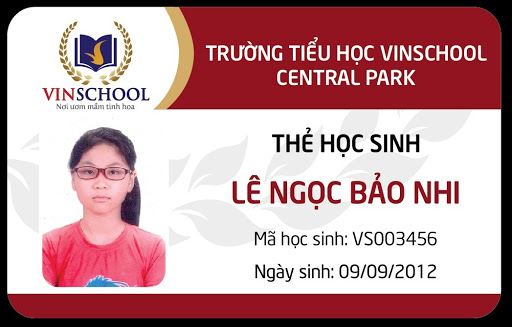 In thẻ hoc sinh